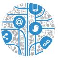 marketing and communications icon image